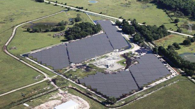 Solar Farm Florida