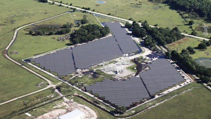 Orlando S New Solar Plant Takes Shape As Florida S Solar